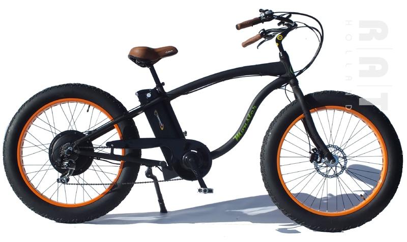 Ombouwset elektrische fiets  RAT Holland