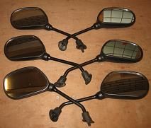 3 setjes spiegels scooter