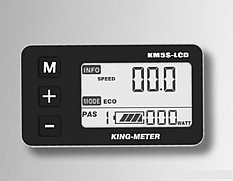 King-Meter KM5-S LCD display met wartel aansluiting
