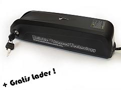 Accuset HL frame accu 48V / 17,5Ah Lithium High Grade + Gratis lader