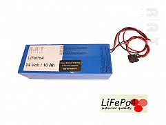 LiFePO4 24V/10Ah softpack batterij