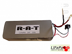 LiFePO4 24V/15Ah softpack batterij