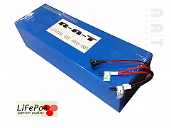 LiFePO4 48V/40Ah softpack batterij