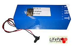 LiFePO4 48V/20Ah softpack batterij