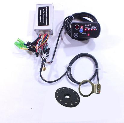 Controller en display set 36 Volt met 5sp LED display