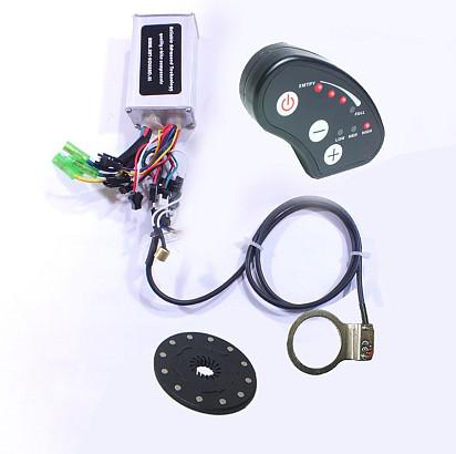 Controller en display set 36 Volt met 6sp LED display