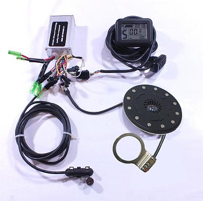 Controller en display set 24 Volt met LCD display J-LCD