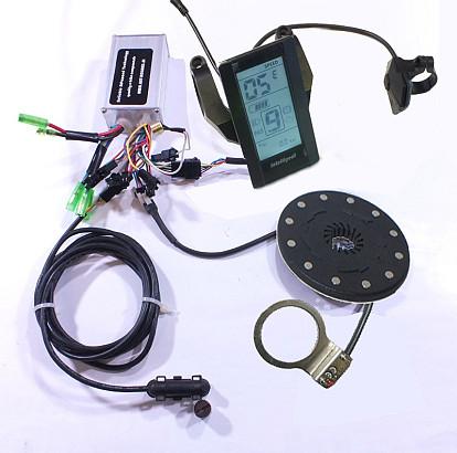 Controller en display set 36Volt met LCD display 800S