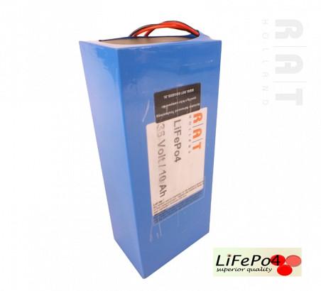 LiFePO4 36V/10Ah softpack batterij