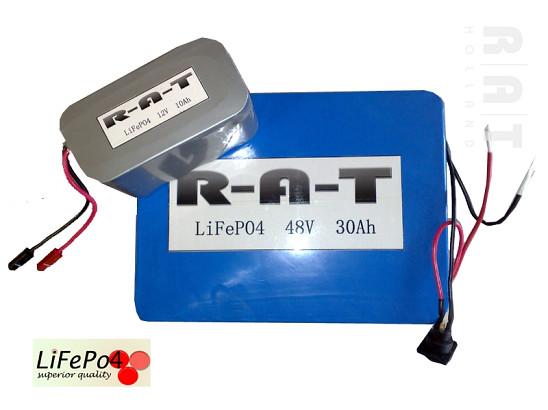 LiFePO4 48V/30Ah softpack batterij