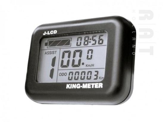 King-Meter J-LCD display t.b.v. ombouwset 013