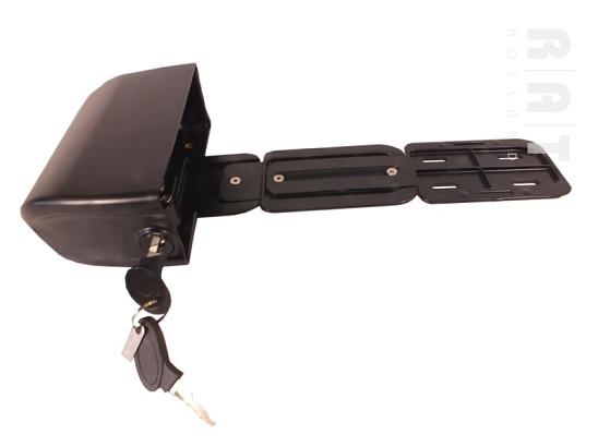Controllerbox, slotplaat, slede & sleutels t.b.v ombouwset 001 en 005