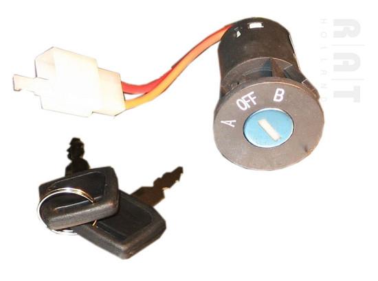 A/B slot met sleutels