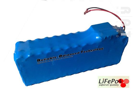 LiFePO4 48V/17Ah softpack batterij