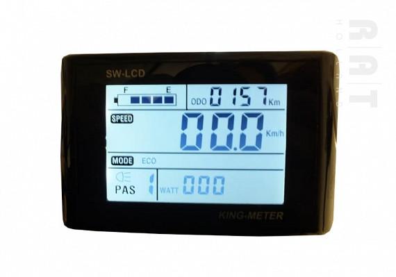 King-Meter SW-LCD display t.b.v. ombouwset 001 en 002