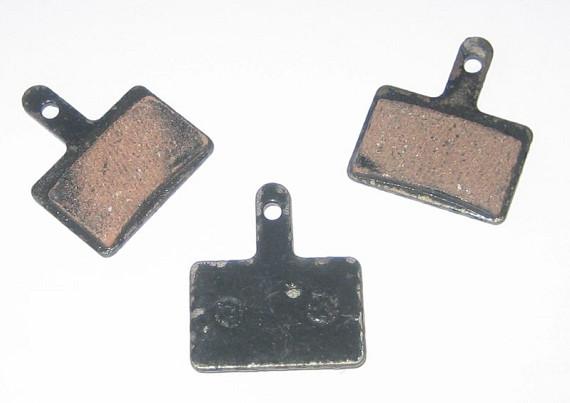 Remblokken (set van 2 stuks) t.b.v. schijfrem