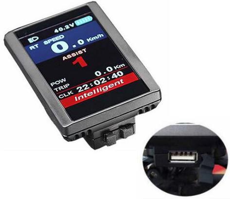 Intelligent 850C kleuren LCD display t.b.v. Prolithium e-bikes