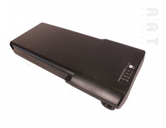 Accuset Panasonic 36V / 10,4Ah Li-ION bagage-drager accu + Gratis lader