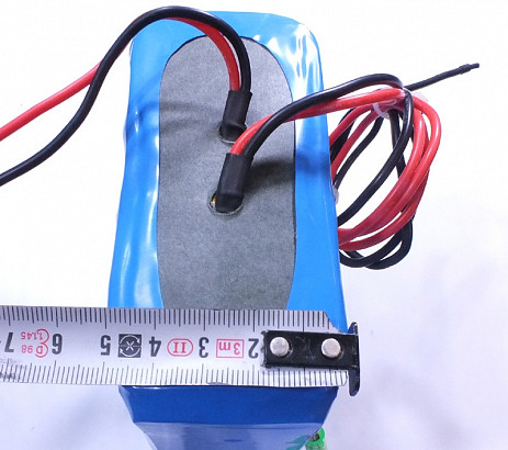 LiFePO4 24V/6Ah softpack batterij
