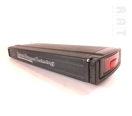 Accuset bagage-drager 36V / 10Ah Li-ION accu + gratis lader