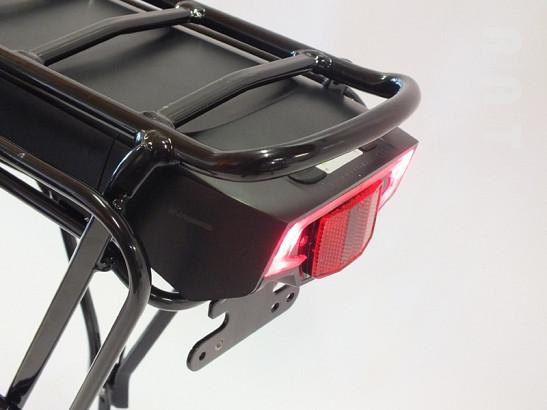 Accuset bagage-drager 36V / 13Ah Lithium High Grade 'Juice model' + gratis lader